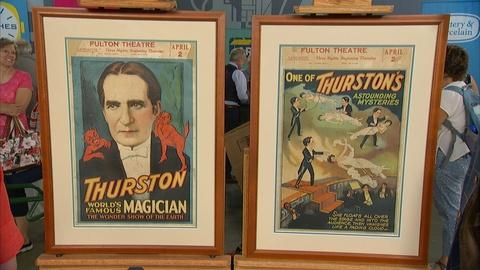 Antiques Roadshow -- S21 Ep26: Appraisal: 1931 Thurston The Magician Lobby Cards