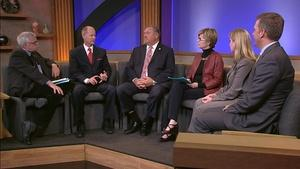 Governor Dayton joined by legislative leaders live in studio