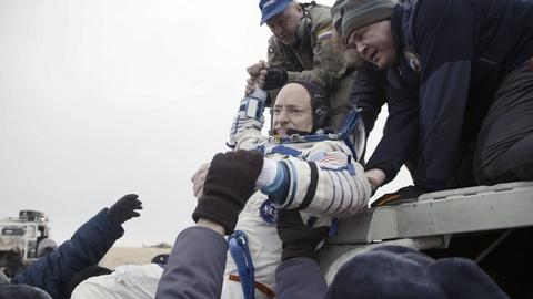 A Year in Space -- Scott Kelly Returns to Earth After a Year in Space