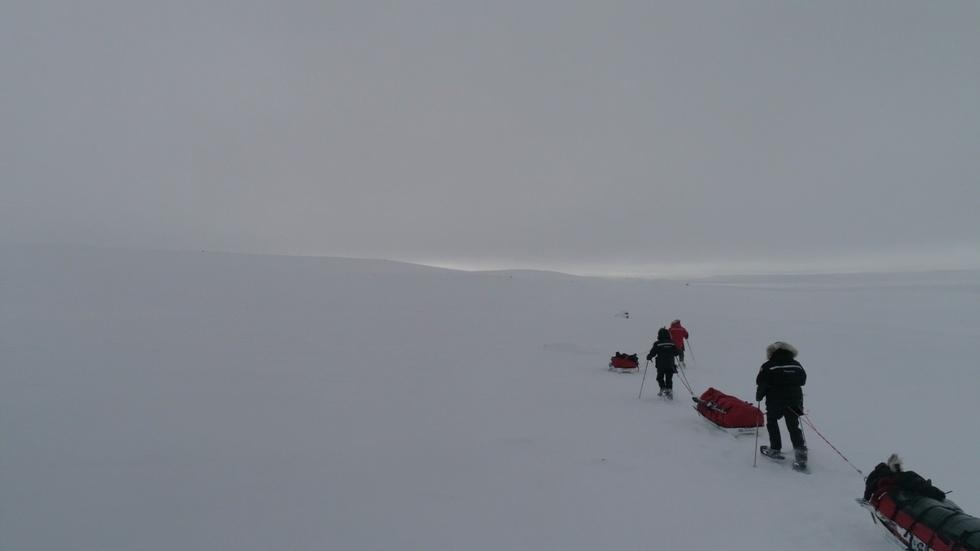 Changing Earth:  Crossing the Artic image