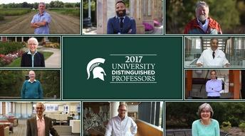 2017 MSU University Distinguished Professors