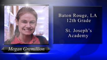 2018 Louisiana Young Heroes - Megan Gremillion