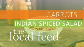 Carrots | Indian Spiced Carrot Salad