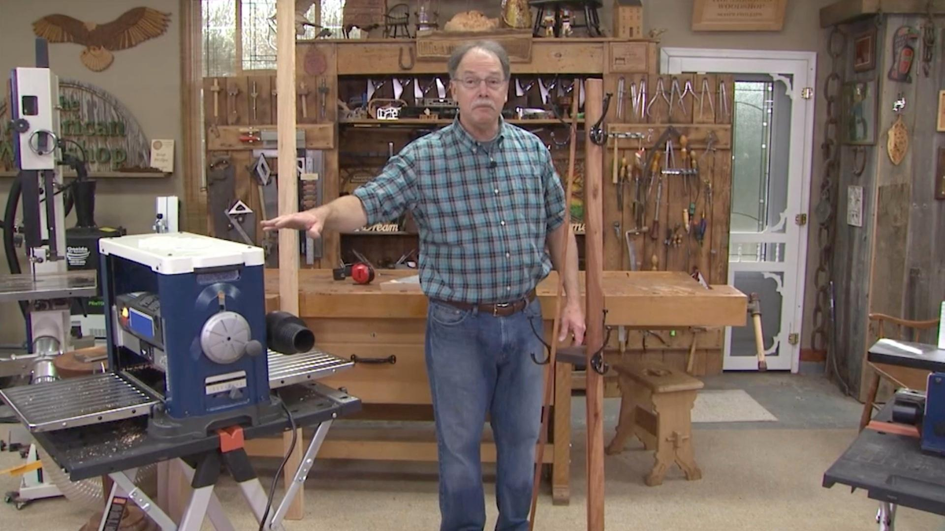 Video: Bent Wood Stands | Watch American Woodshop Online ...