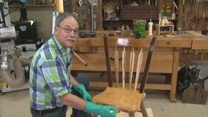 The Burkhardt Inspired Green Man Chair