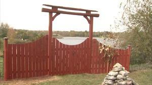 Garden Fan Trellis and Garden Gates