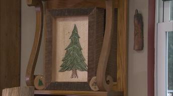 Woodburning Old Wood for Framed Art Displays
