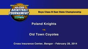 Poland vs. Old Town Boys B State Championship