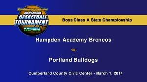 Hampden Academy vs. Portland Boys A State Championship