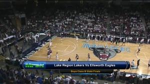 Lake Region vs Ellsworth Boys Class B State Final 02/26/2016
