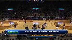 E.L. vs. Gorham Girls Class AA State Final 02/27/2016