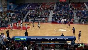 George Stevens vs Waynflete Boys Class C State Final 02/27/1