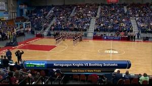 Narraguagus vs Boothbay Girls Class C State Final 02/27/16