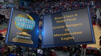 Greely vs. Messalonskee Boys Class A State Final