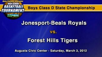 Jonesport-Beals vs. Forest Hills - Boys D - S.C. - 3/3/12