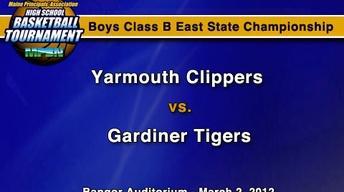 Yarmouth vs. Gardiner - B Boys - S.C. - 3/2/12