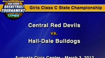Central vs. Hall-Dale - C Girls - S.C. - 3/3/12