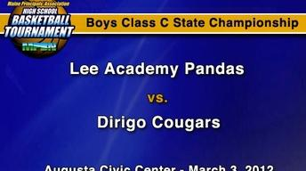 Lee Academy vs. Dirigo - C Boys - S.C. - 3/3/12