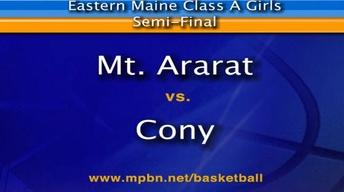Cony vs Mt. Ararat Girls A East Seimfinal, 02/22/2012