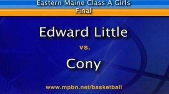 Edward Little vs Cony Girls A East Final 02/24/2012