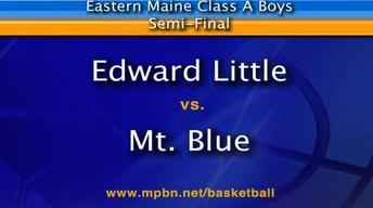 Edward Little vs Mt Blue Boys A East Semifinal 02/22/12