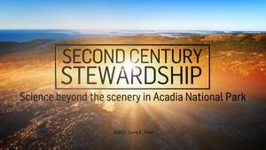 Second Century Stewardship: The Science Beyond the Scenery
