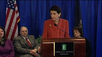 Olympia Snowe's Press Conference
