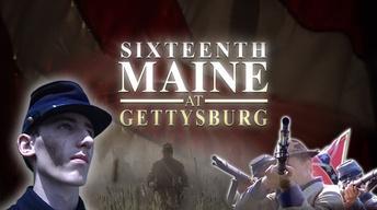 Sixteenth Maine at Gettysburg