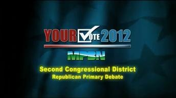 2nd Congressional District Republican Debate May 17, 2012