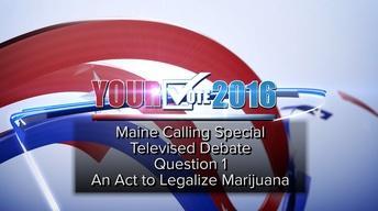 Question One: Pot Legalization Debate, September 22, 2016