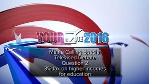 Debate on Question 2: Education Funding, Oct. 17, 2016