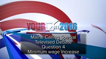 Debate on Q. 4: Increase minimum wage to $12/hour by 2020