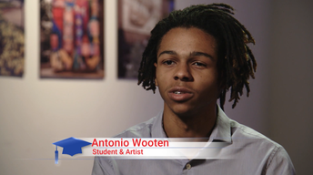 American Graduate Champions - Antonio Wooten