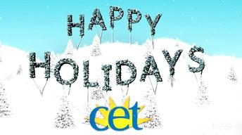 Happy Holidays from CET