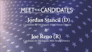 Meet the Candidates: Jordan Stancil and Joe Reno