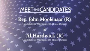 Meet the Candidates: Rep. John Moolenaar and Al Hardwick
