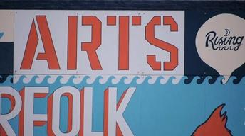 Resurgence of Vinyl Records; Norfolk Arts District (#2314)