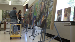 Saginaw Art Museum; Math Division; Race to College