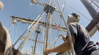 Sailing Into the Past | Trailer - Volunteers