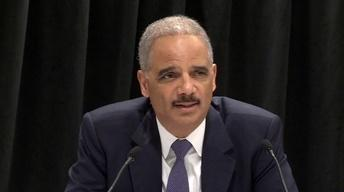 Eric Holder; MLK Scholarship Recipients