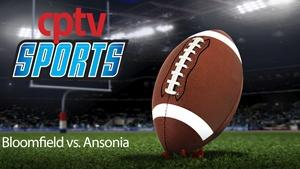 Boys Football CIAC Class S Final Bloomfield v Ansonia