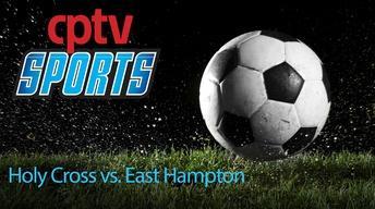 Girls Soccer Holy Cross v East Hampton (09/23/15)