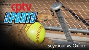 High School Softball Seymour v Oxford (04/13/16)