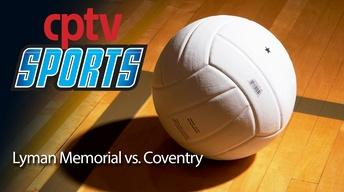CIAC Girls Volleyball Class S Final Lyman vs Coventry