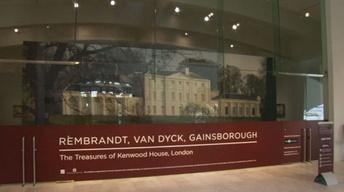 108: Rembrandt, Van Dyck, Gainsborough Exhibit