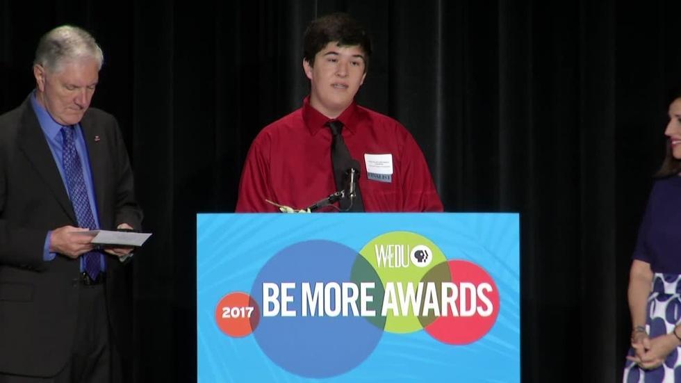 2017 WEDU Be More Inspiring Award image