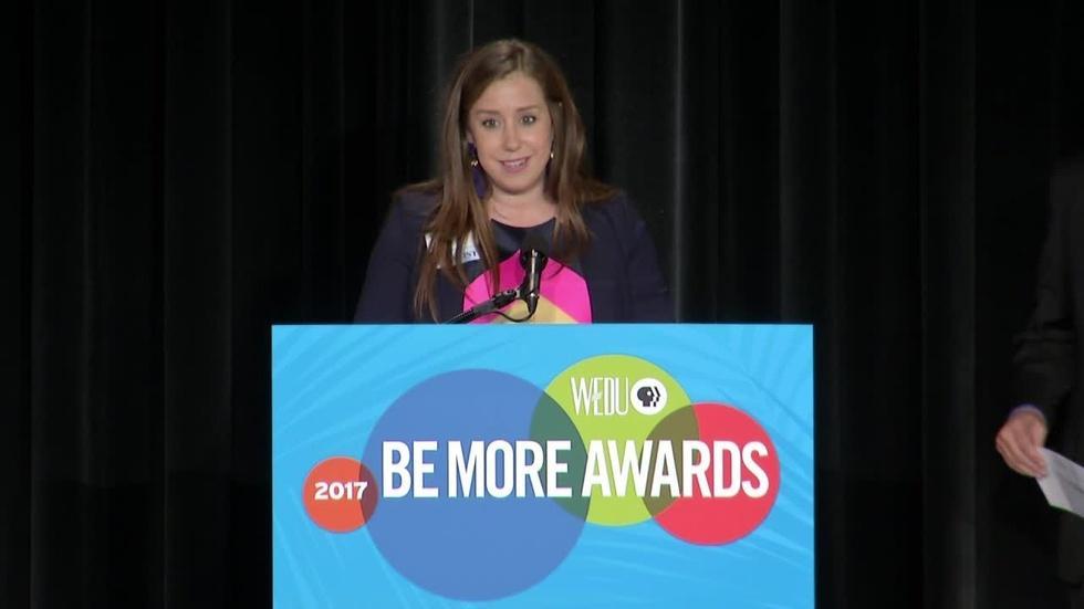 2017 WEDU Be More Entertaining Award image