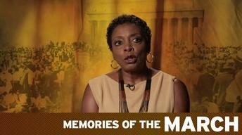 Memories of The March: Jeraldine Williams-Shaw