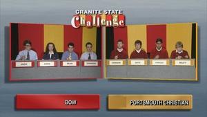 Bow High School vs. Portsmouth Christian Academy