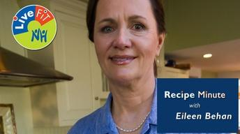 LiveFIT NH Recipe Minute with Eileen Behan | Portions